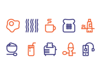 Morning Ritual Icon Set