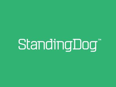 Standing Dog™ Logotype