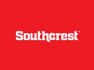 Southcrest™ Logotype A home builder builder logotype logo