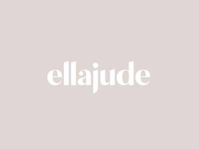 Ellajude Logotype