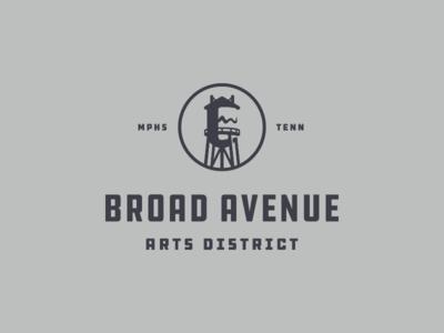 Broad Avenue Arts District Logo