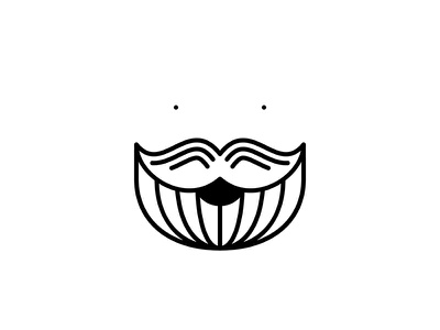 Me profile icon people illustration smile beard me