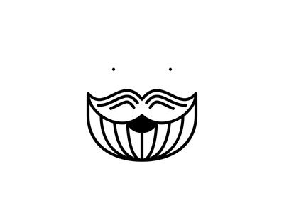 Me profile icon people illustration smile beard me