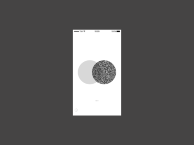 Meanwhile mistake bw design graphic test meanwhile crazy prototyping app
