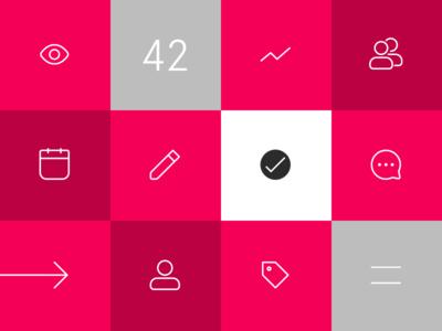 3 Startup Project Management essentials pattern goal startup design people time illustration icons project management