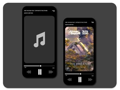 Daily Ui  Music Player v2