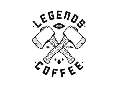 Legends Coffee Re-brand