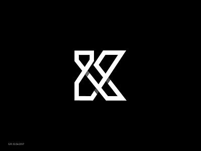 Day 57/365 . Marksizm™ project k type letter marqism marksizm geliskhanov mark symbol logo