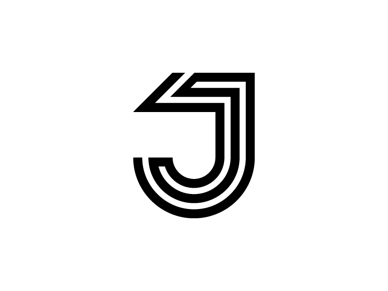 J line j geliskhanov logotype mark monogram logo