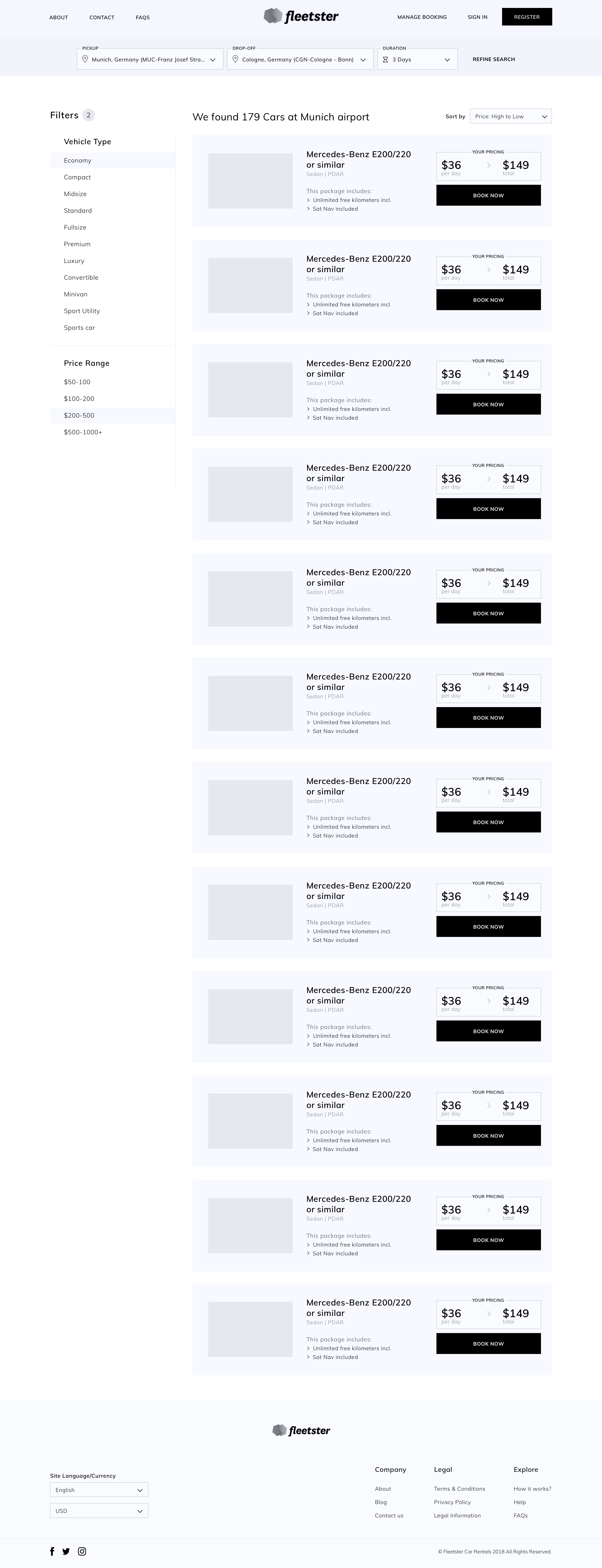 Search result   wireframe 2x
