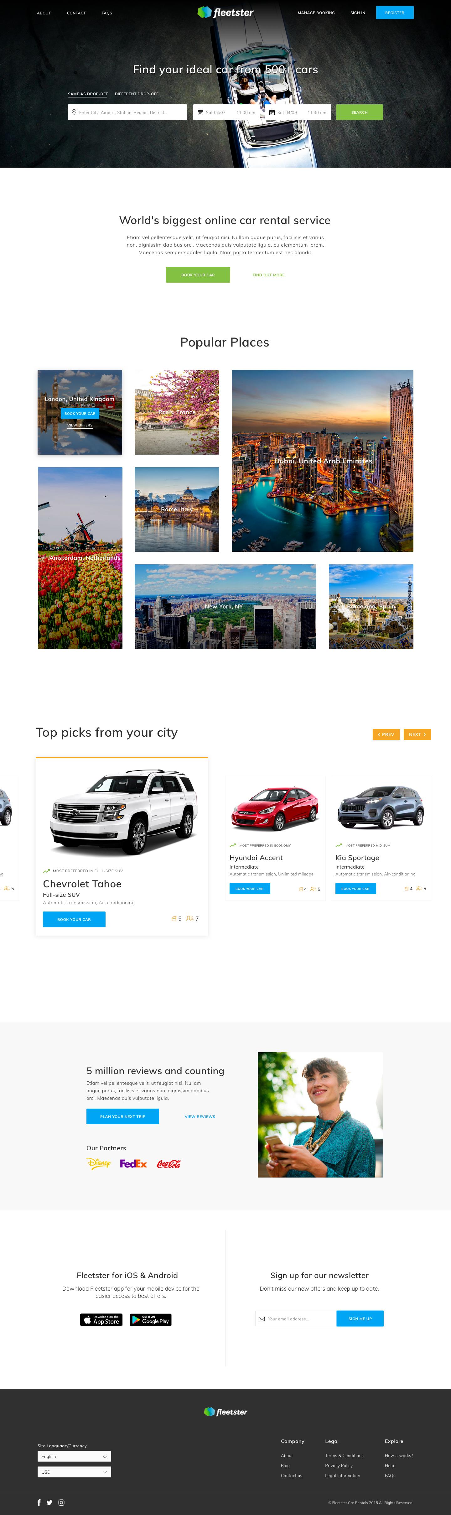 Homepage   mockup 1x