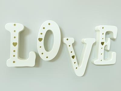 love 3D GOLD 3d ui graphic design design vector logo icon branding illustration