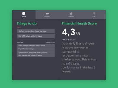 App for Entrepreneurs and Accountants