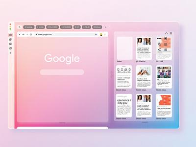 SpaceFlow Browser figma browser ux