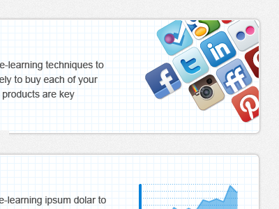 yet another social service social icon ui webdesign