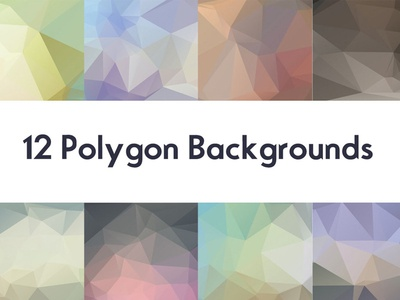 Free Polygon Backgrounds :V1 geometric triangles colorful backgrounds creative unique hi-res color graphics artistic free freebie