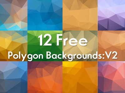 Free Polygon Backgrounds :V2