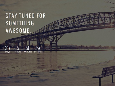 Free Coming Soon Landing Page