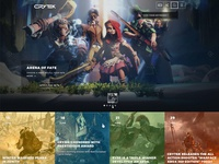FREE Redesign of the Crytek home page