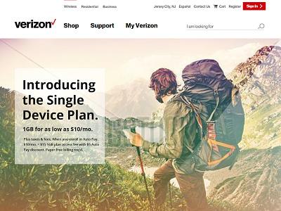 Verizon Landing Page verizon landing page