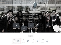 Touro Homepage Redesign
