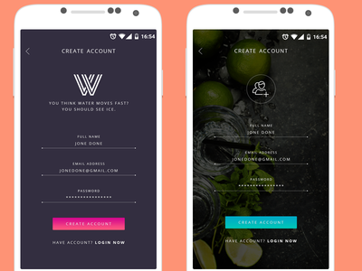 Sign In Screen #3 android freelancer ui ux mobile login sign up