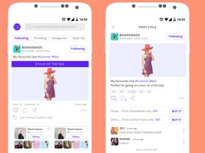 Fashion Mobile App
