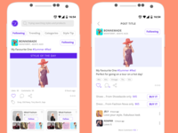 Fashion Mobile App