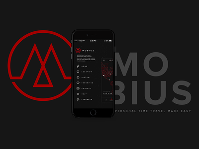 Mobius ios mobile app visual design ux ui