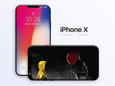 iPhone X x iphone apple ios