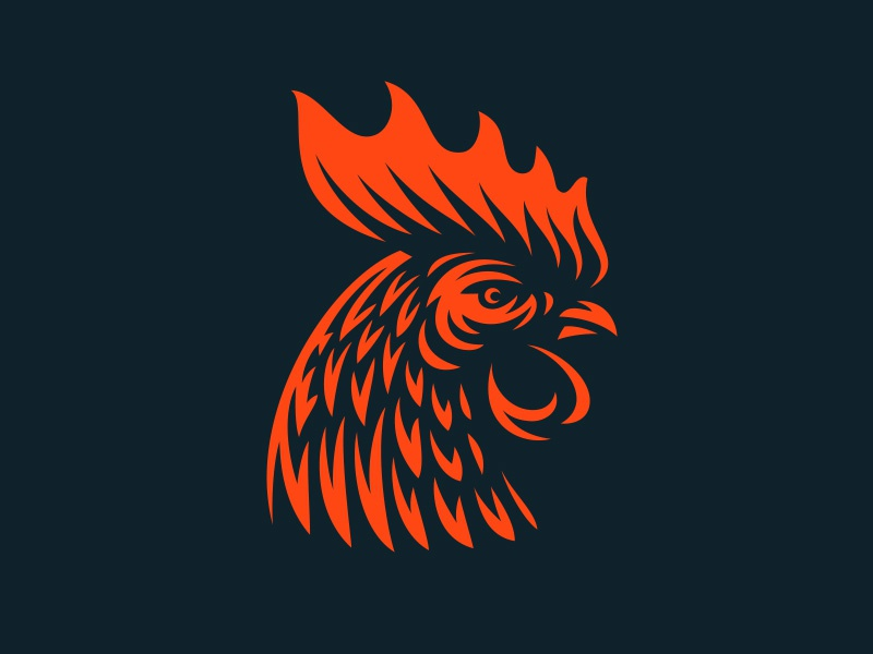 Rooster 2017 fire rooster