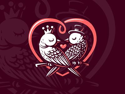 Love day valentine bird love