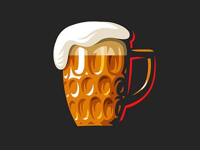 Beer mug cup beer