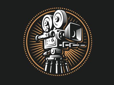 Camera retro classic film camera