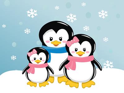 Winter graphic design illustration vector book design