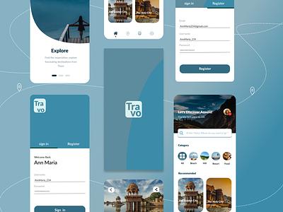 explore app icon logo typography vector app ux ui design