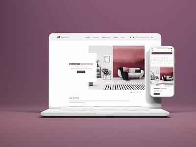 Maynooth Furniture Website ui graphic design