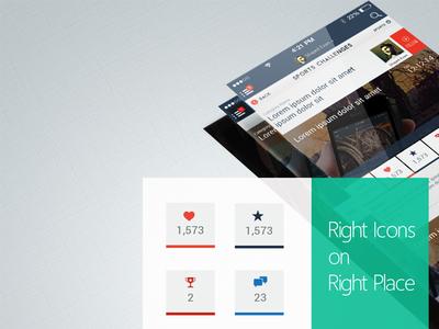 Fleez Mobile App Stack Styles