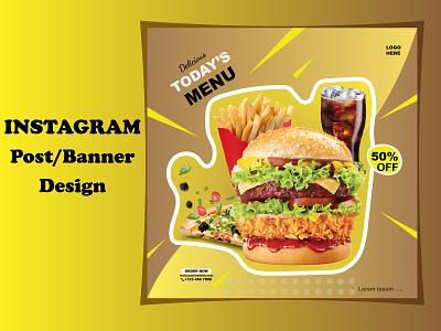 Instagram Post Design branding logo vector e-commerce post design illustration social media post design facebook post design instagram post design graphic design design