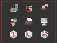 Icon set for collage app