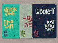 Alternative Music - Gig Poster's