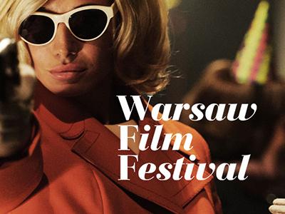 Warsaw Film Festival logo concept warsaw film festival