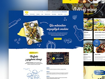 Food Lovers webdesign lovers food