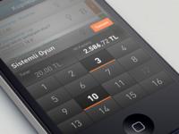 custom numeric keyboard