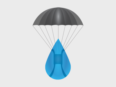 Operation Water Drop branding logo
