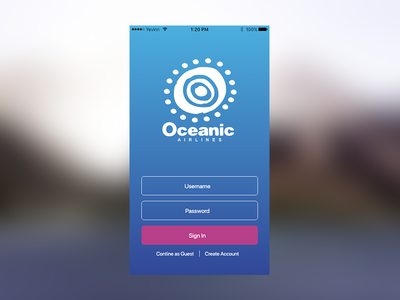 #DailyUi 001 Sign Up sign up oceanic ui ux dailyui