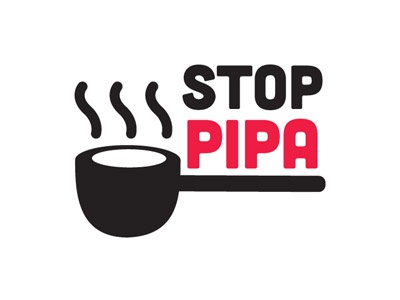 Stop PIPA pipa illustration art vector