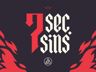 Seven Second Sins
