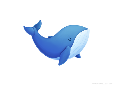 Whale mexico illustration cartoon kids children character kidlitart procreate cute cartoons ballena whale