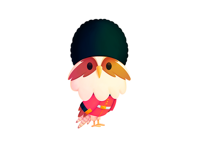 Simon - London branding design procreate london mascot media seahawk simon character illustration